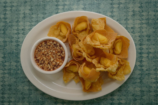 Fried Cheese Wontons served with our Sweet & Tangy Thai Chili Sauce